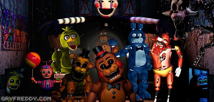 Zdjęcia z Five Nights at Freddy's